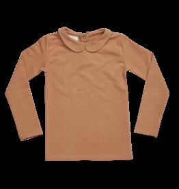 Blossom kids Peterpan longsleeve shirt | caramel fudge