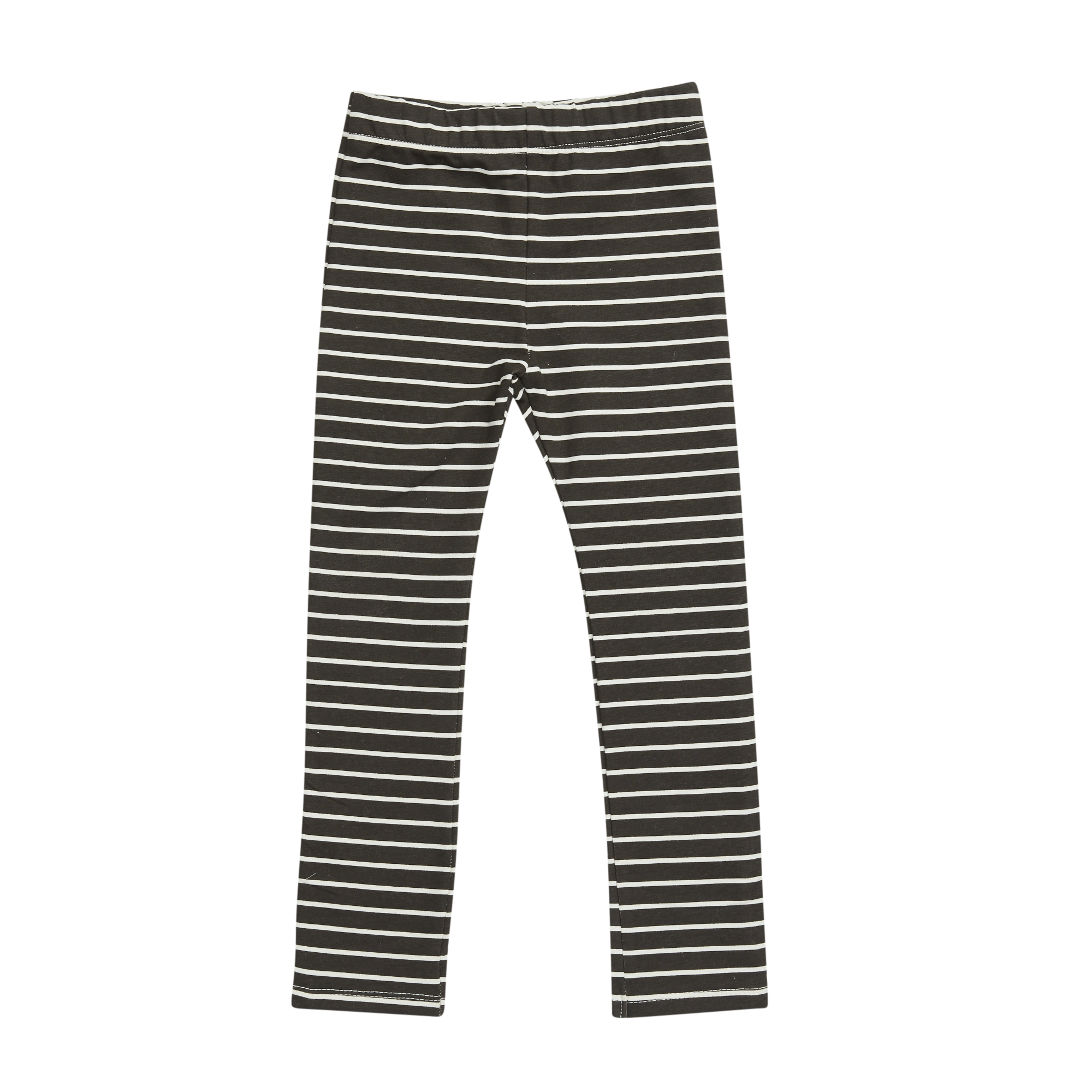 Blossom kids Legging printed, petit stripes | espresso black