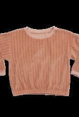 Blossom kids Cropped jumper | pastel peach