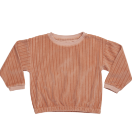 Blossom kids Cropped jumper | pastel peach