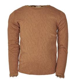 en'fant LS t-shirt   leather brown