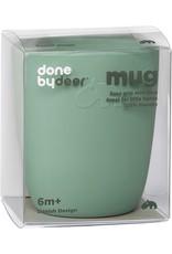 Done by Deer Sillicone mini mug   green