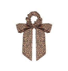 Mimi & Lula Leopard scrunchie brown