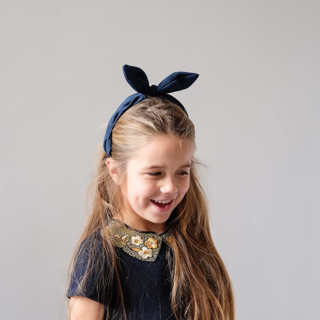Mimi & Lula navy coco bow| Alice