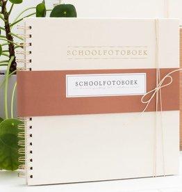 Schoolfotoboek | Linnen Ivoor