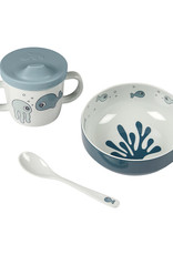 Done by Deer First meal set Sea friends | Blue