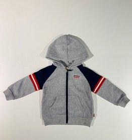 Levi's Zip Hoody | Grey heather