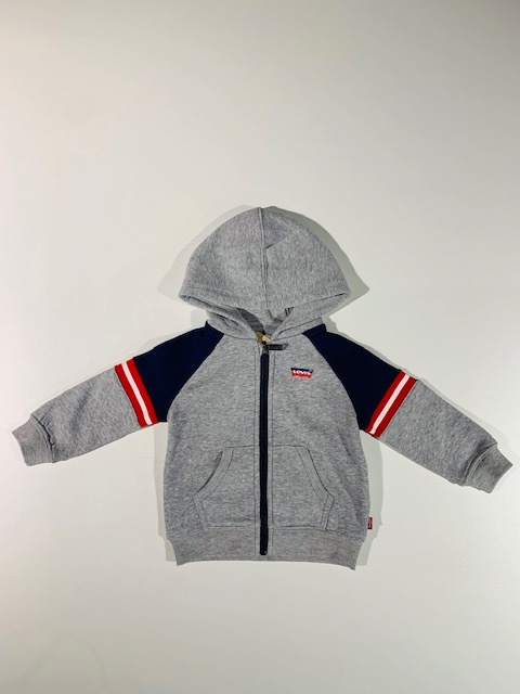 Levi's Zip Hoody | Grey heather