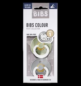 Bibs Fopspeen natuurrubber | GID Sage/cloud T1