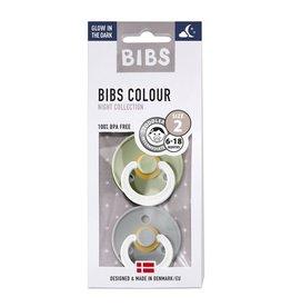Bibs Fopspeen natuurrubber | GID Sage/cloud T2