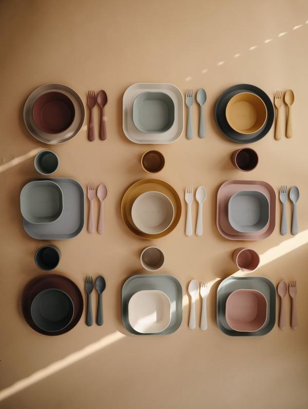 Mushie Fork-Spoon | Woodchuck
