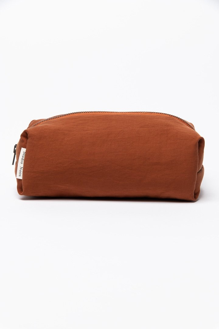 Studio Noos Puffy pouch copper