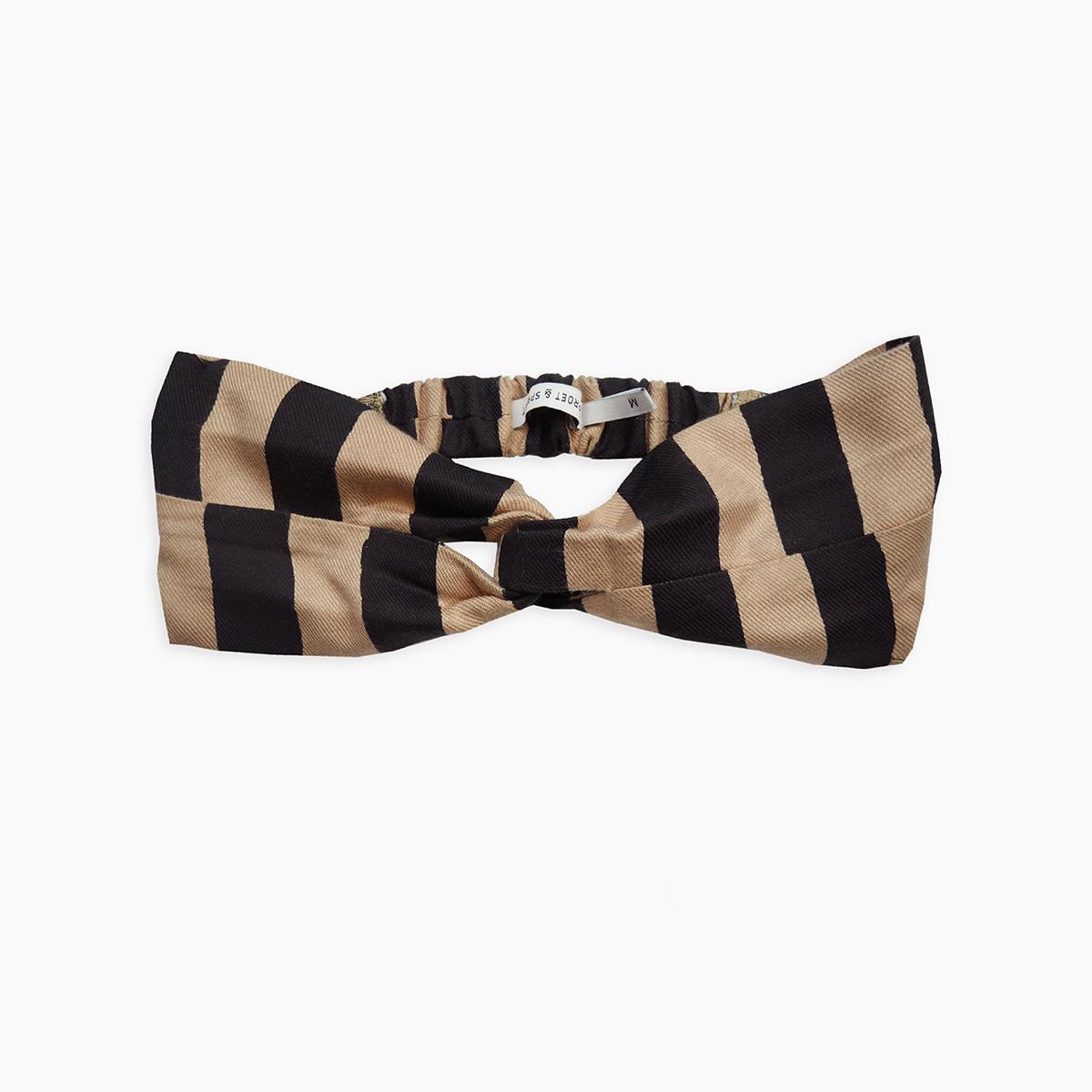 Sproet & Sprout Twist headband   painted stripe