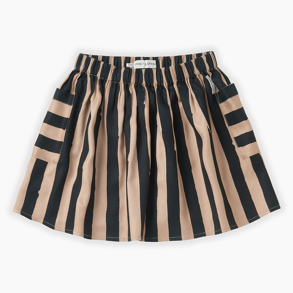 Sproet & Sprout Skirt painted stripe