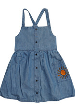 CarlijnQ Denim dress with straps