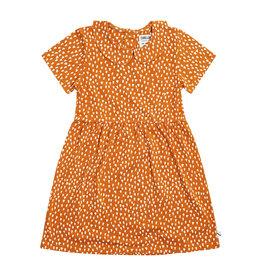 CarlijnQ Sparkles collar dress short sleeves