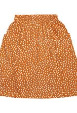 CarlijnQ Golden sparkles  skirt with pockets