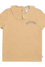 CarlijnQ Have fun t-shirt collar with print