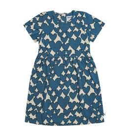 CarlijnQ Hearts dress short sleeves