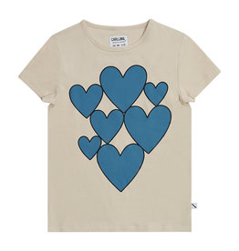 CarlijnQ Hearts t-shirt with print