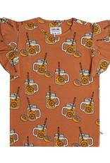 CarlijnQ Lemonade ruffled t-shirt