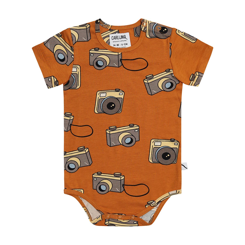 CarlijnQ Photo camera bodysuit short sleeve
