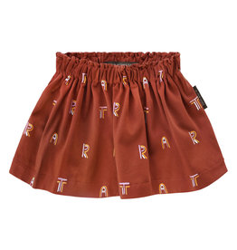 Your Wishes Art skirt | rust