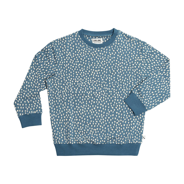 CarlijnQ Petrol sparkles sweater