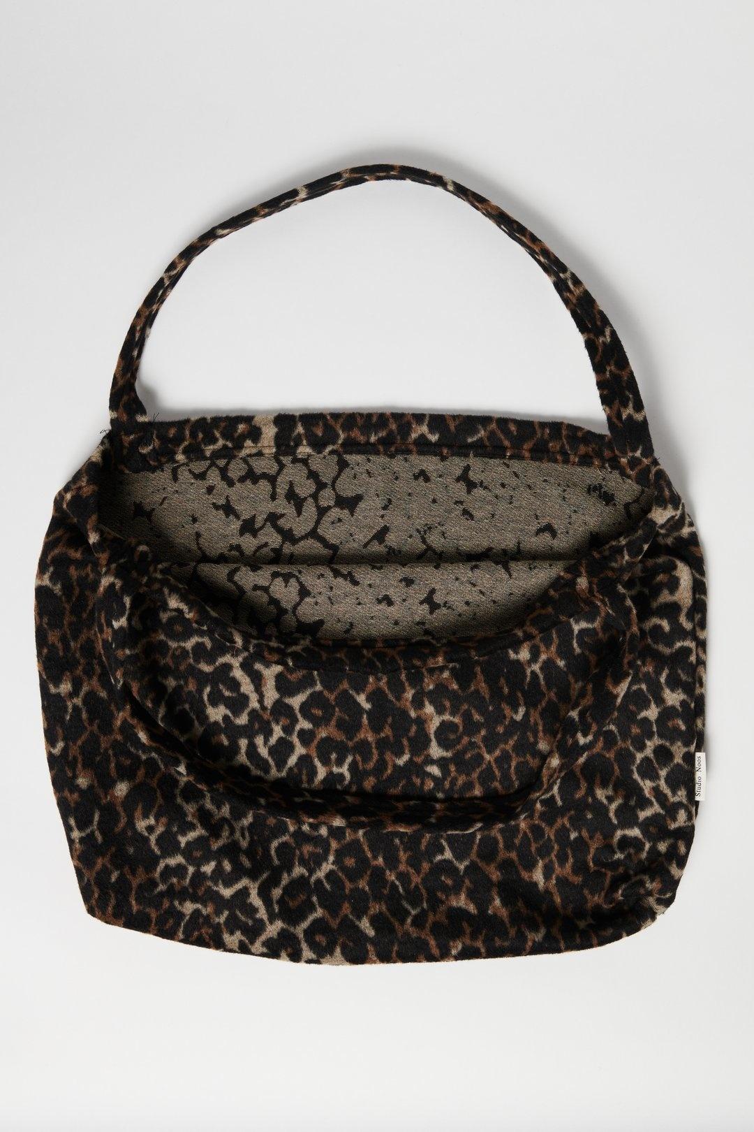Studio Noos Brown Jaguar mom bag
