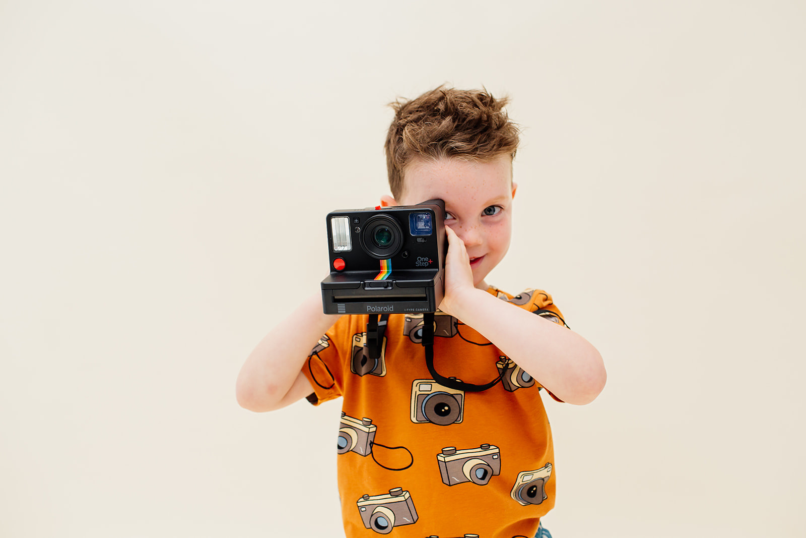 CarlijnQ Photo camera short sleeve dropback