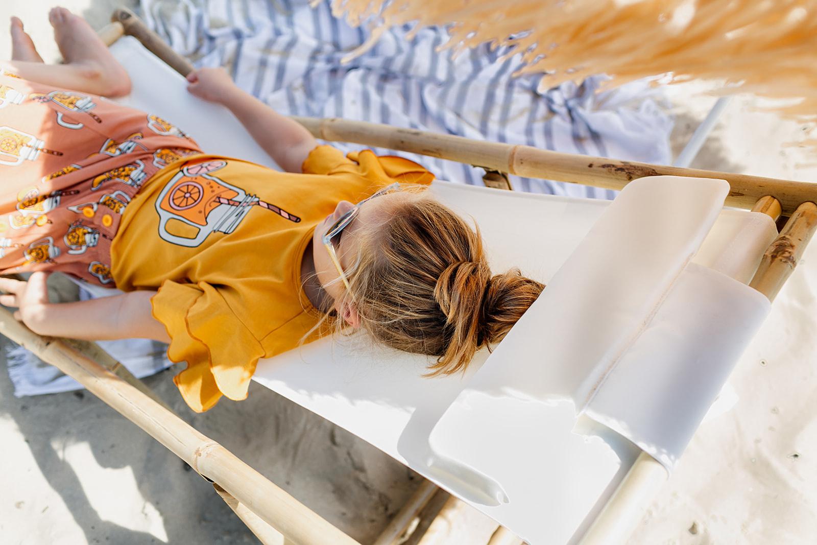 CarlijnQ Lemonade ruffled t-shirt with print