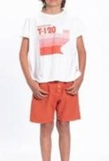 piupiuchick T-shirt | off white |multicolor print