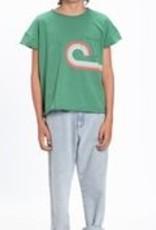 piupiuchick T-shirt green | multicolor print