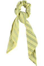 piupiuchick Elastic hair band | yellow with grey