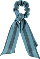 piupiuchick Elastic hair band | blue with grey