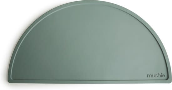 Mushie Silicone mat | Cambridge blue