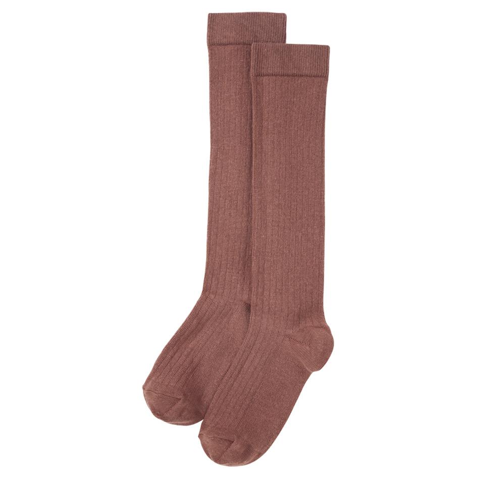 Mingo Knee Socks Sienna Rose