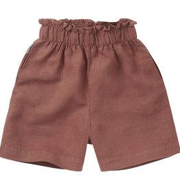 Mingo Linen Paper Bag Short Sienna Rose