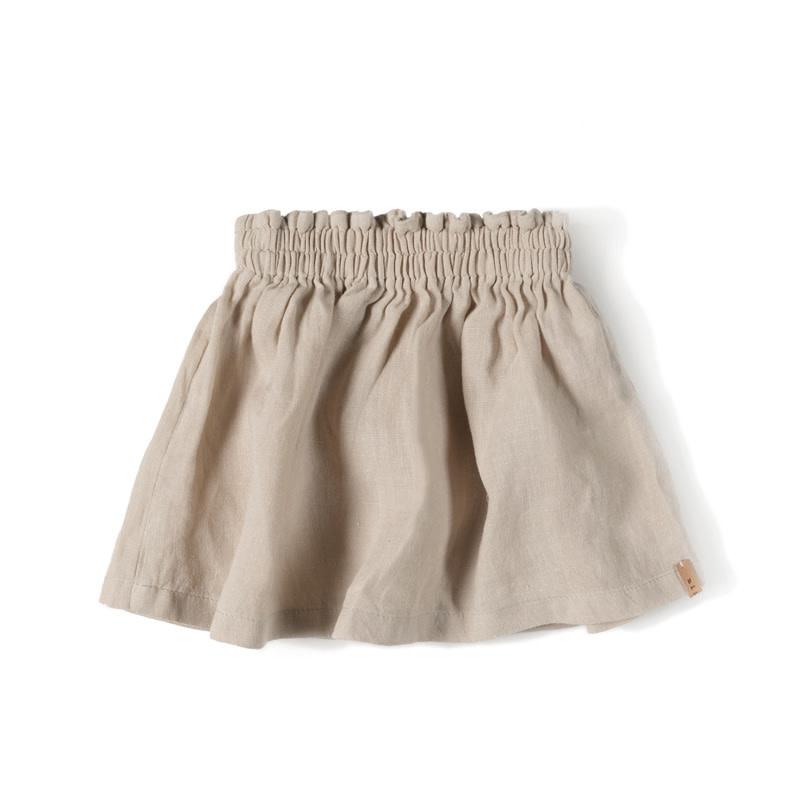 Nixnut Lin skirt   Sand