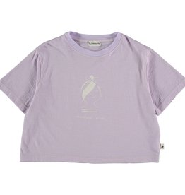 My Little Cozmo Organic cotton flame t-shirt | Mauve