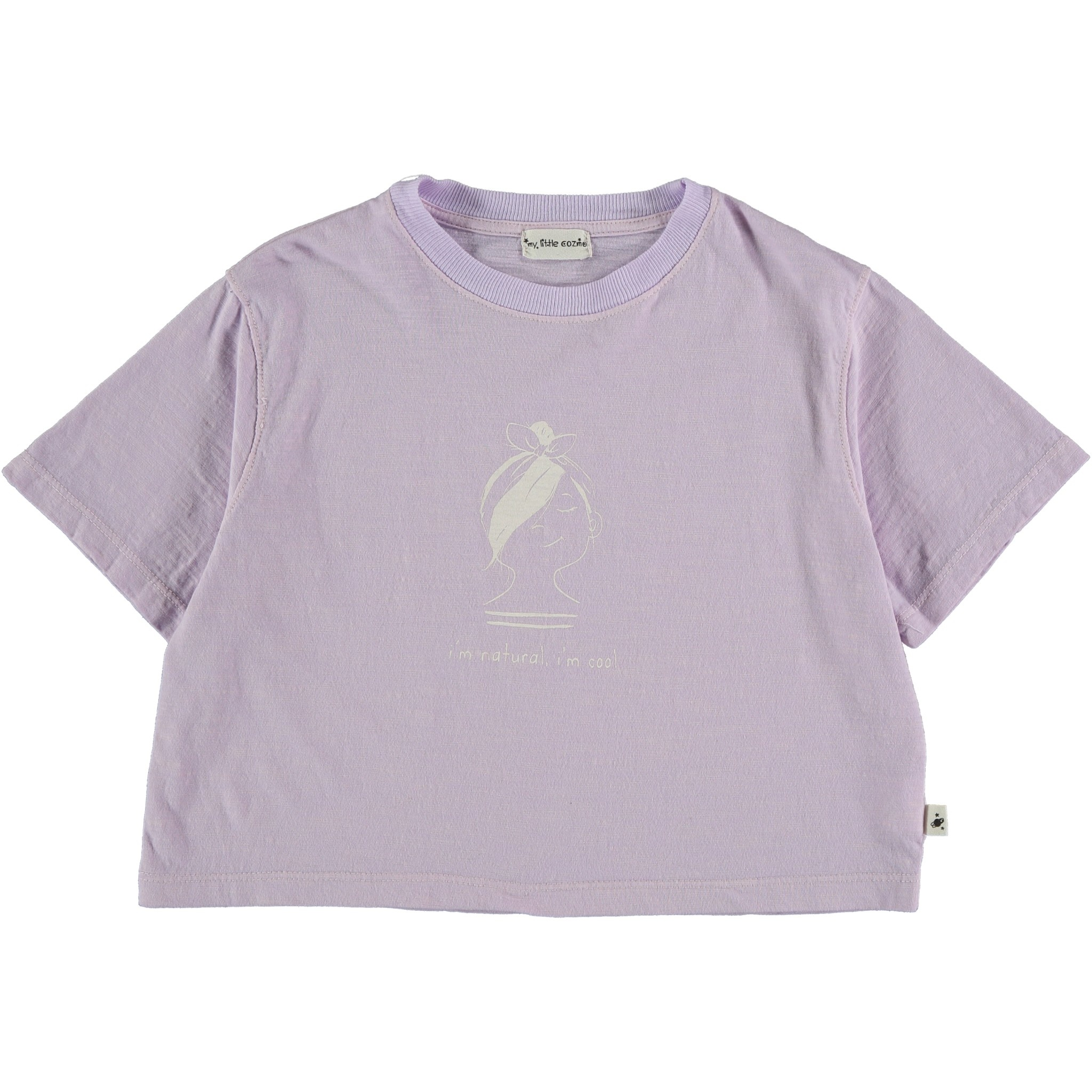 My Little Cozmo Organic cotton flame t-shirt   Mauve