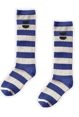 Sproet & Sprout High sock Stripe | Cobalt