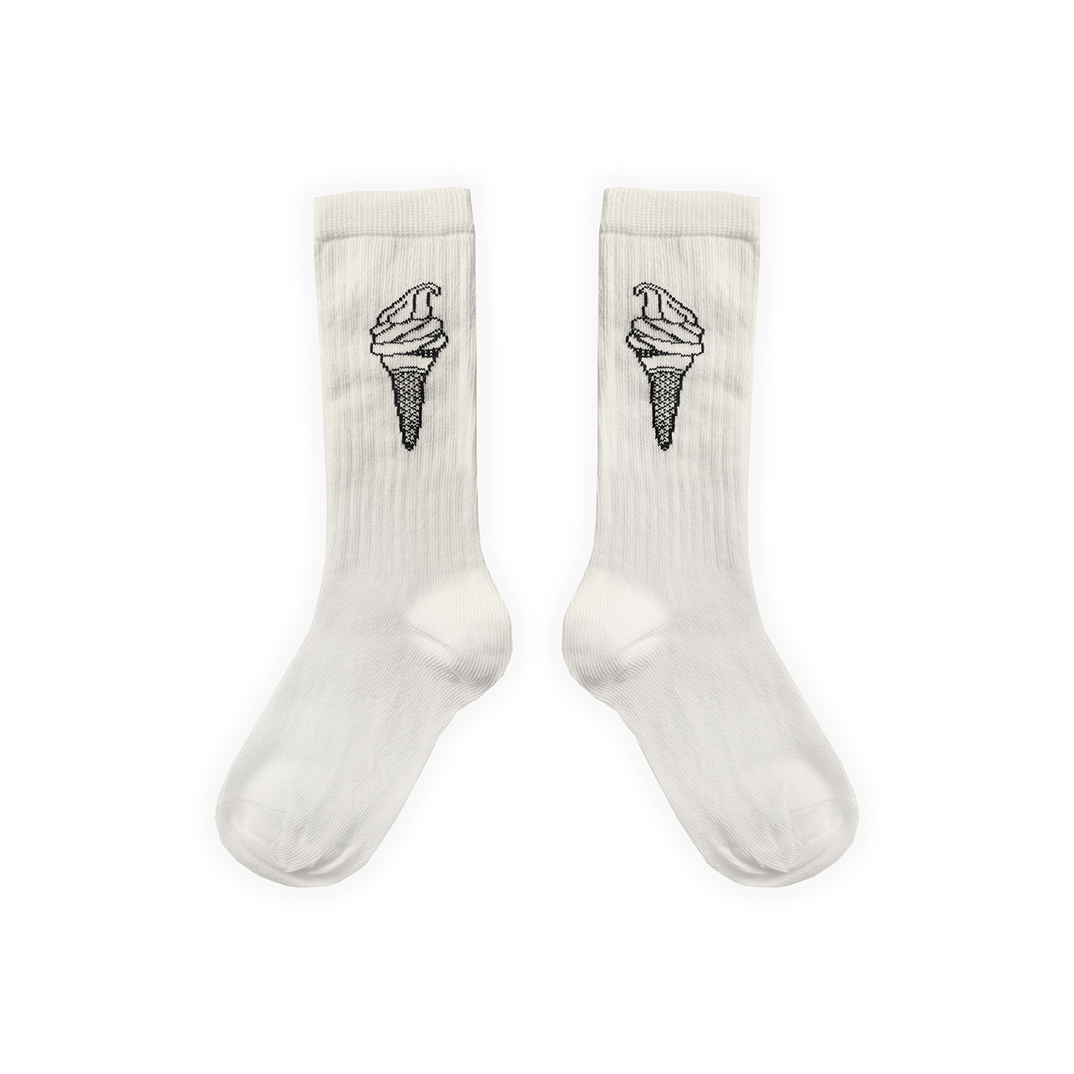 Sproet & Sprout Sport sock Ice cream | Off white