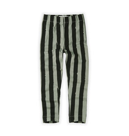 Sproet & Sprout Legging Painted stripe | Eucalyptus