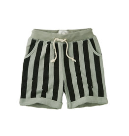 Sproet & Sprout Short Painted stripe | Eucalyptus