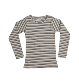 Blossom kids Long sleeve - Stripes - Cinnamon