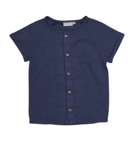 Blossom kids Shirt short sleeve - Royal Blue