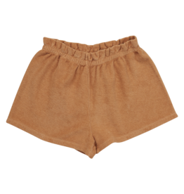 Blossom kids Terry paperbag short - Honey