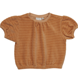 Blossom kids Velvet top - Honey