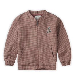 Sproet & Sprout Jacket mini check | Rose